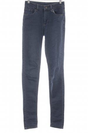 Denim Co. Skinny Jeans dunkelblau Casual-Look