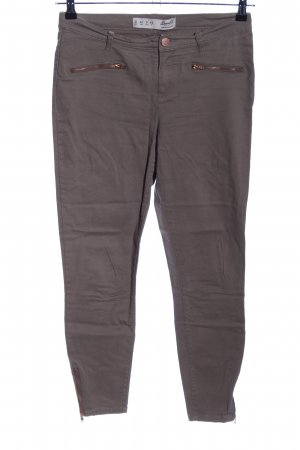 Denim Co. Skinny Jeans braun Casual-Look