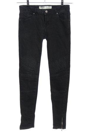 Denim Co. Jeans skinny noir style décontracté