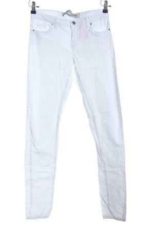 Denim Co. Slim Jeans weiß Casual-Look