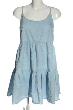 Denim Co. Sommerkleid blau Casual-Look
