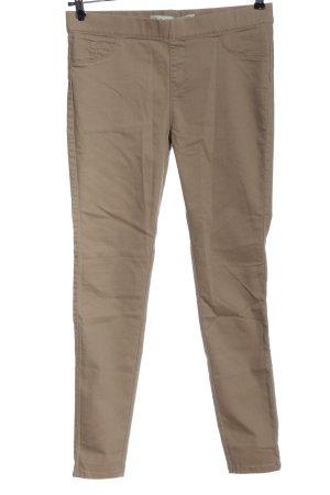 Denim Co. Pantalone jersey marrone stile casual