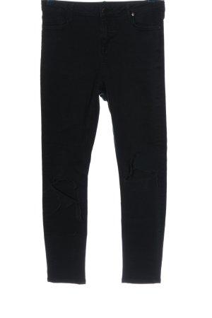 Denim Co. Straight-Leg Jeans schwarz Casual-Look