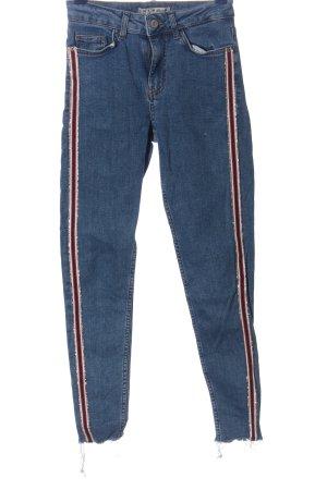 Denim Co. Straight-Leg Jeans Streifenmuster Casual-Look