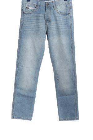 Denim Co. Straight-Leg Jeans blau Casual-Look