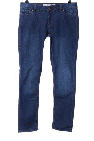 Denim Co. Straight-Leg Jeans stahlblau Casual-Look