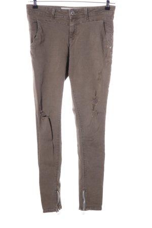 Denim Co. Stretch Jeans braun Casual-Look