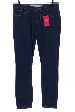 Denim Co. Stretch Jeans blau Casual-Look
