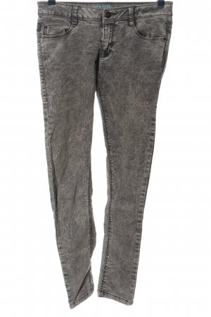 Denim Co. Stretch Trousers light grey casual look