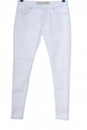 Denim Co. Tregging blanc style décontracté