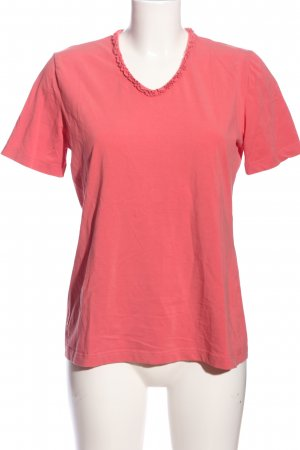 Denim Co. V-Neck Shirt pink casual look