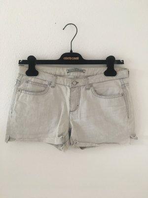 Denim grau hellgrau grey Jeans Shorts 27 hell Sommer Stretch elastisch bequem hotpants kurze Hose