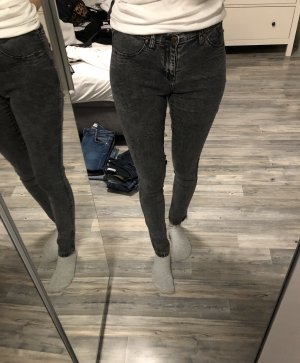Denim graue Jeans