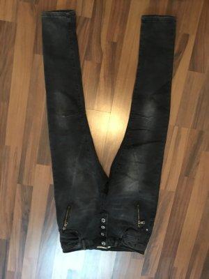 Pantalón boyfriend gris antracita-gris oscuro