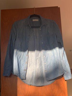 New Look Denim Shirt blue