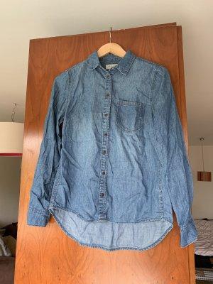 New Look Chemise en jean bleu
