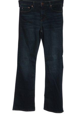 & DENIM Jeans a vita alta blu stile casual