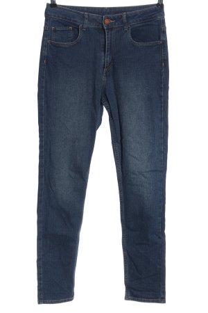 & DENIM Jeansy z wysokim stanem niebieski W stylu casual