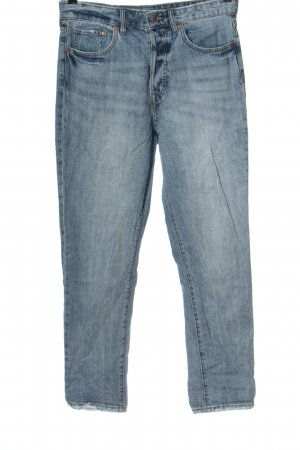 & DENIM Hoge taille jeans blauw casual uitstraling