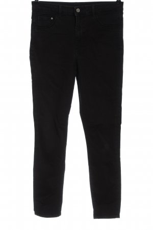 & DENIM High Waist Jeans schwarz Casual-Look