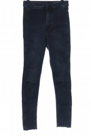 & DENIM Jeans a vita alta nero stile casual