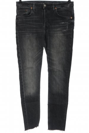 & DENIM High Waist Jeans schwarz Casual-Look