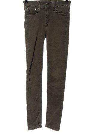 & DENIM High Waist Jeans khaki Casual-Look