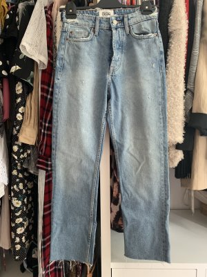 Denim Highwaisted Jeans von Zara
