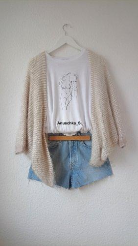 Denim Highwaistshorts / Momshorts / Highwaisted Jeansshorts / Hellblau / Vintage / Used Look