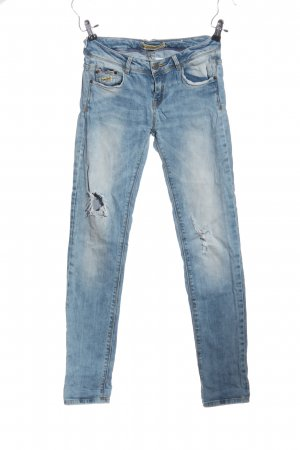 & DENIM Low-Rise Trousers blue casual look