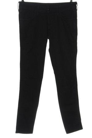 & DENIM Jeansy biodrówki czarny W stylu casual