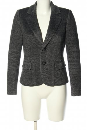 Denim Hunter Kurz-Blazer hellgrau meliert Casual-Look