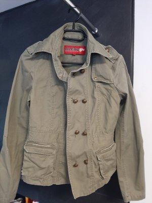 BlendShe Denim Jacket olive green-khaki
