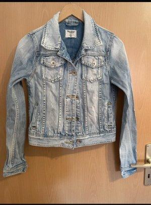 Blue Rags Veste en jean bleu fluo-bleu clair