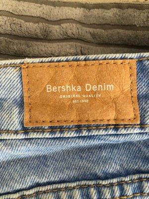 Bershka Jeans baggy bleu azur