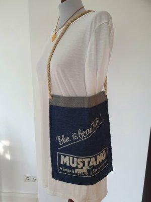 Mustang Sac en toile bleu foncé