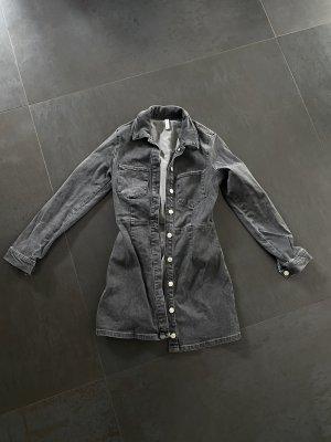 Denim/Jeans -Kleid mit Knöpfen