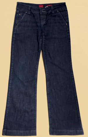 Denim Jeans, lang, low waist, Gr. 36
