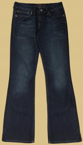 Denim Jeans, lang, low waist, Gr. W27/32 entspricht 36