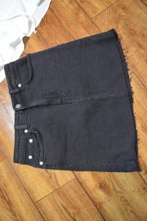Nakd Denim Skirt black