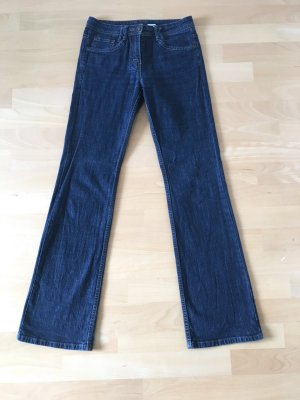 Yessica Jeans flare bleu foncé-bleu