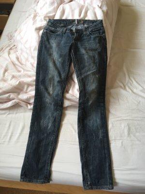 Denim Jeans mit Waschungen