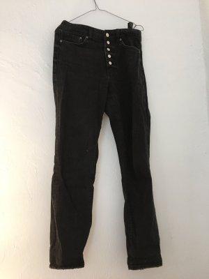 Vintage Boyfriend jeans zwart-antraciet