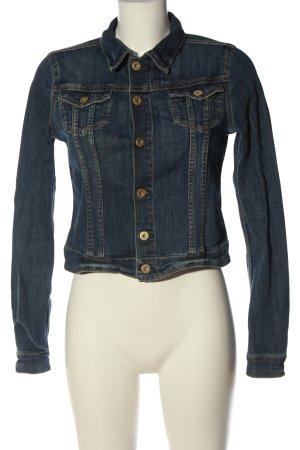 & DENIM Jeansowa kurtka niebieski W stylu casual