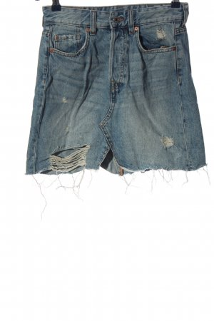 & DENIM Gonna di jeans blu stile casual