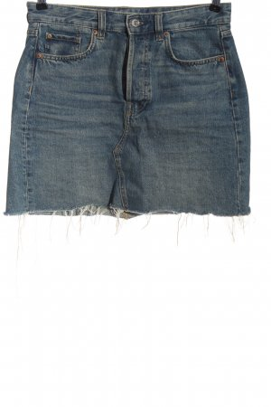 & DENIM Gonna di jeans blu stile casual