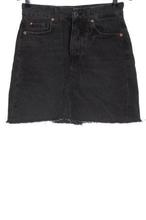 & DENIM Jeansowa spódnica czarny W stylu casual