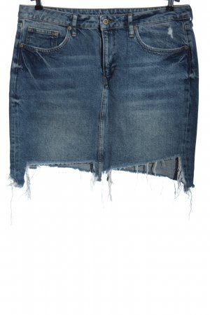 & DENIM Jupe en jeans bleu style décontracté