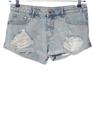 & DENIM Pantalón corto de tela vaquera azul look Street-Style