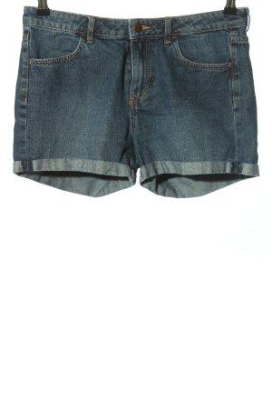 & DENIM Short en jean bleu style décontracté